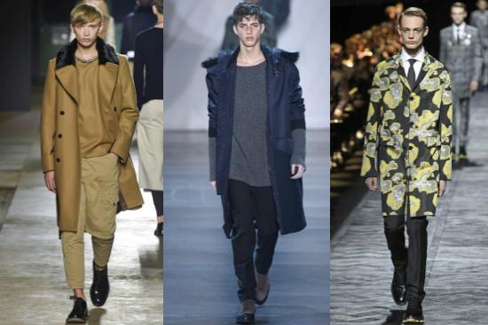 semana de la moda hombres otoño