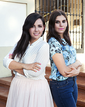Esa y Pau de Fashion Blog México