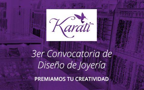 Participa en la 3er Convocatoria de Diseño de Joyería de Karati