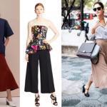 Cómo usar pantalones tipo culottes