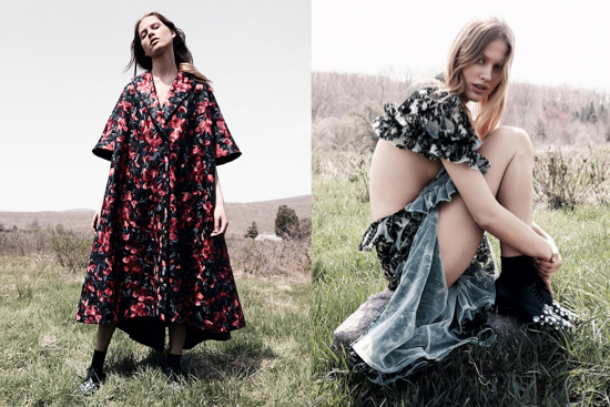 editorial de moda vogue china