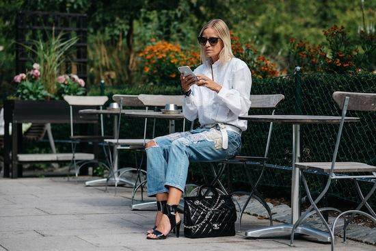 inspiración jeans como usarlos