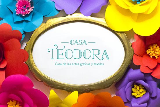 Casa Teodora: El lugar donde vive la creatividad en Gualajara - Cursos y talleres bordado, yoga, artes gráficas, textil, ilustración