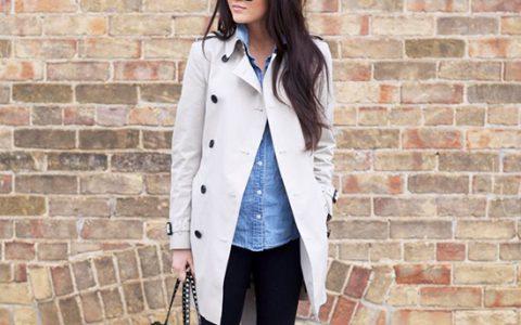 ¿Cómo combinar un trench coat? Ideas de como usar una gabardina