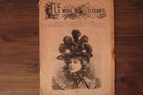 Un viaje a 1896 a través de un periódico de moda