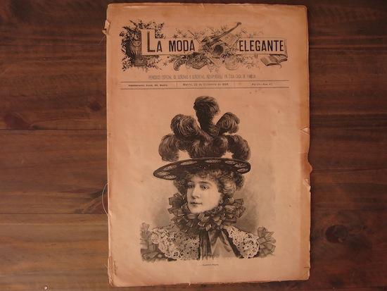 la moda elegante periodico español