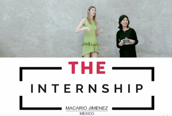 the internship macario jimenez