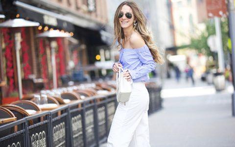 Tendencia: Blusas de manga larga para el verano