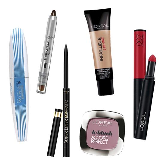 Look de maquillaje parisino con productos de L'Oréal París