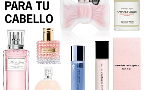 Perfumes para el cabello, ¿yay o nay?