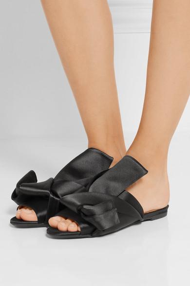 zapatos de satin