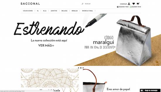 Tiendas online mexicanas de ropa y accesorios