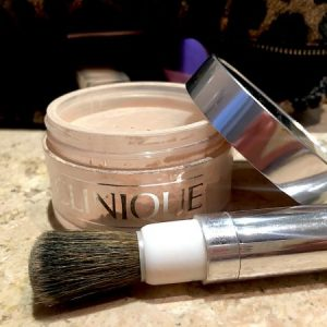 reseña blended face powder clinique
