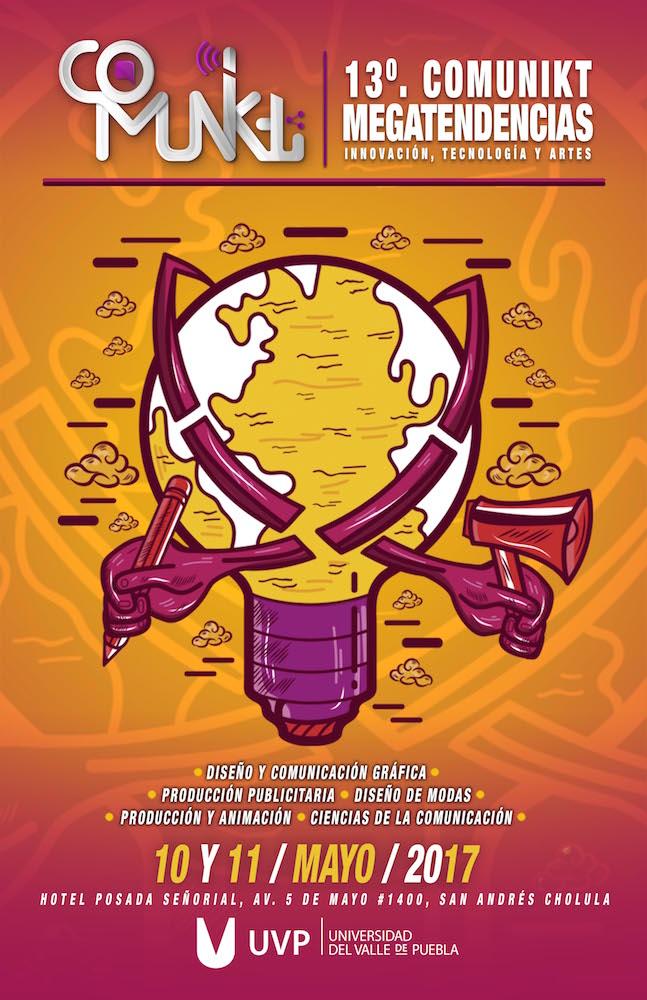 13vo Congreso Comunikt de la UVP en Puebla