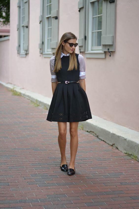Formas diferentes y atrevidas de usar un vestido