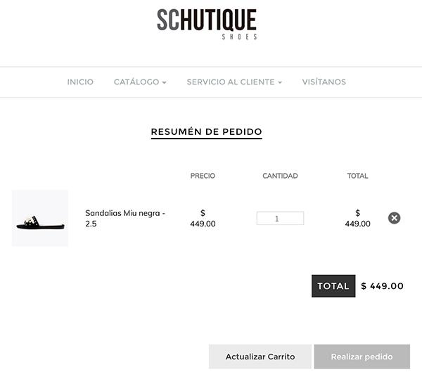 Reseña: Cómo comprar en la tienda online de Schutique Shoes
