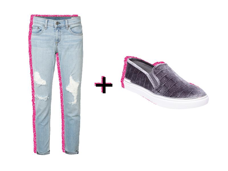 Cómo combinar jeans para ir a la universidad