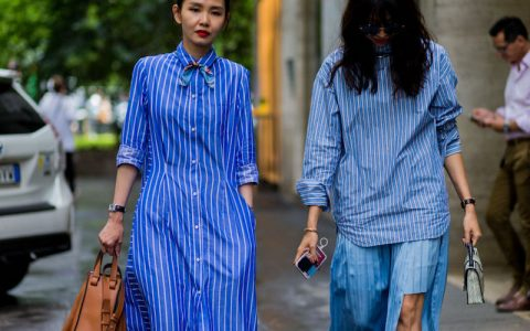 tendencia ropa con rayas