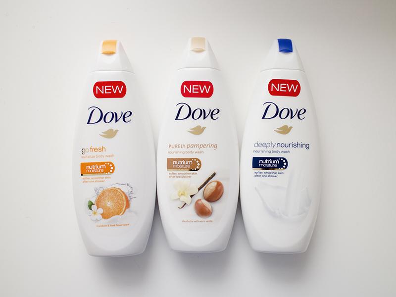 Jabón líquido Body Wash de Dove