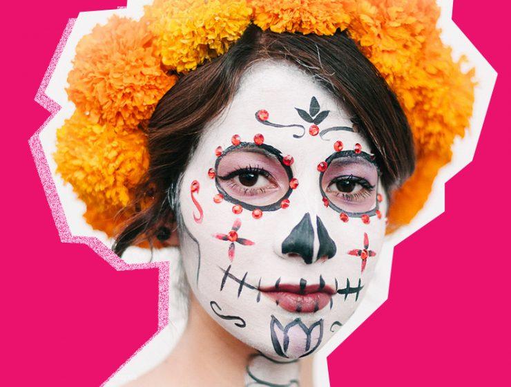 ¿Cómo maquillarte el Día de Muertos?
