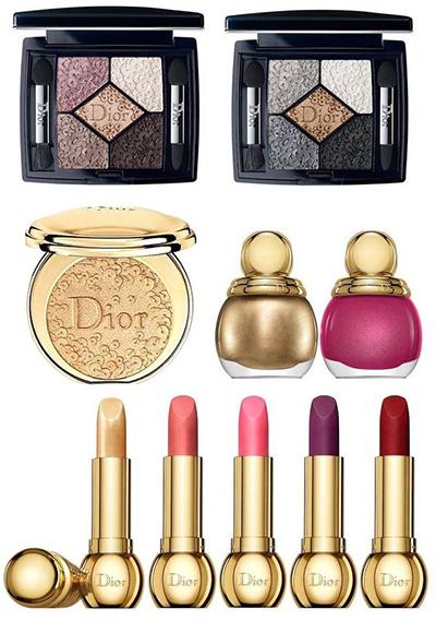 Colección de maquillaje holiday navidad 2017 de Dior