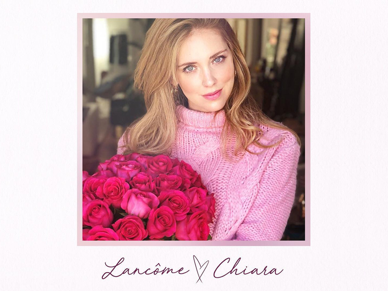 Colección edición limitada Lancome Chiara Ferragni