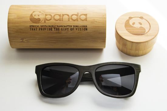 28401a4ccf PANDA: Lentes de sol de madera de bambú hechos a mano
