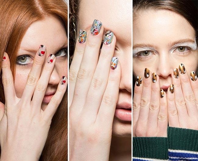 Tendencia: Uñas de moda para Otoño Invierno 2015 - 2016