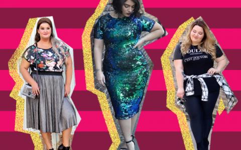 Atuendos alegres para mujeres tallas extra o con muchas curvas