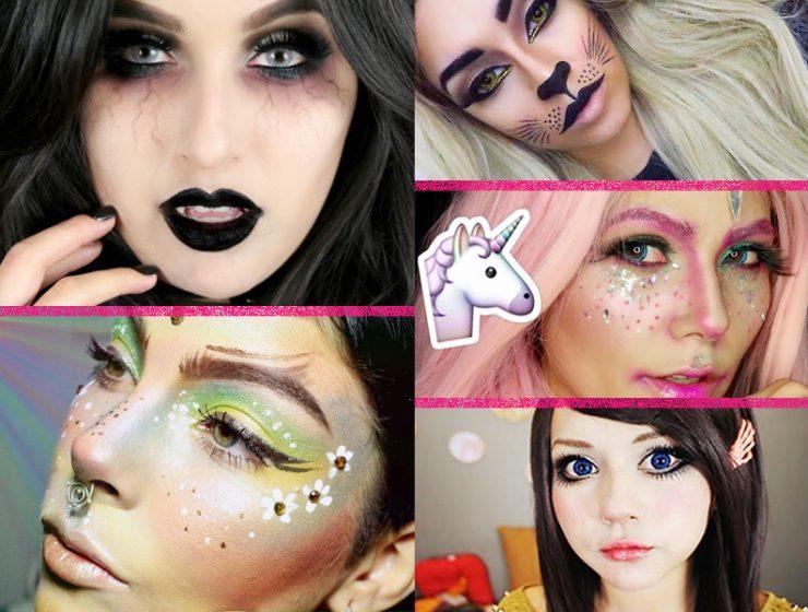 5 Videos de maquillaje de Halloween para disfrazarte sin esfuerzo