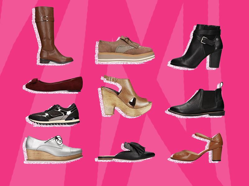 10 Zapatos con los que podrás caminar todo el día sin sufrir
